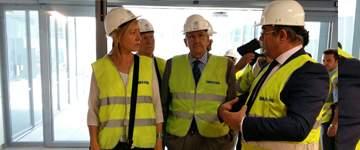 Las oficinas del Zentro Expo recibirán este año a varias empresas que ocuparán 2.500 metros cuadrados