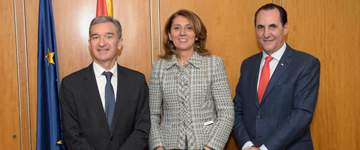 Ibercaja, Ministerio de Economía y las SGR se unen para financiar a las pymes con 500 millones