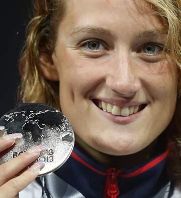Mireia, primera medalla