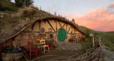 Una casa digna de hobbits en Airbnb