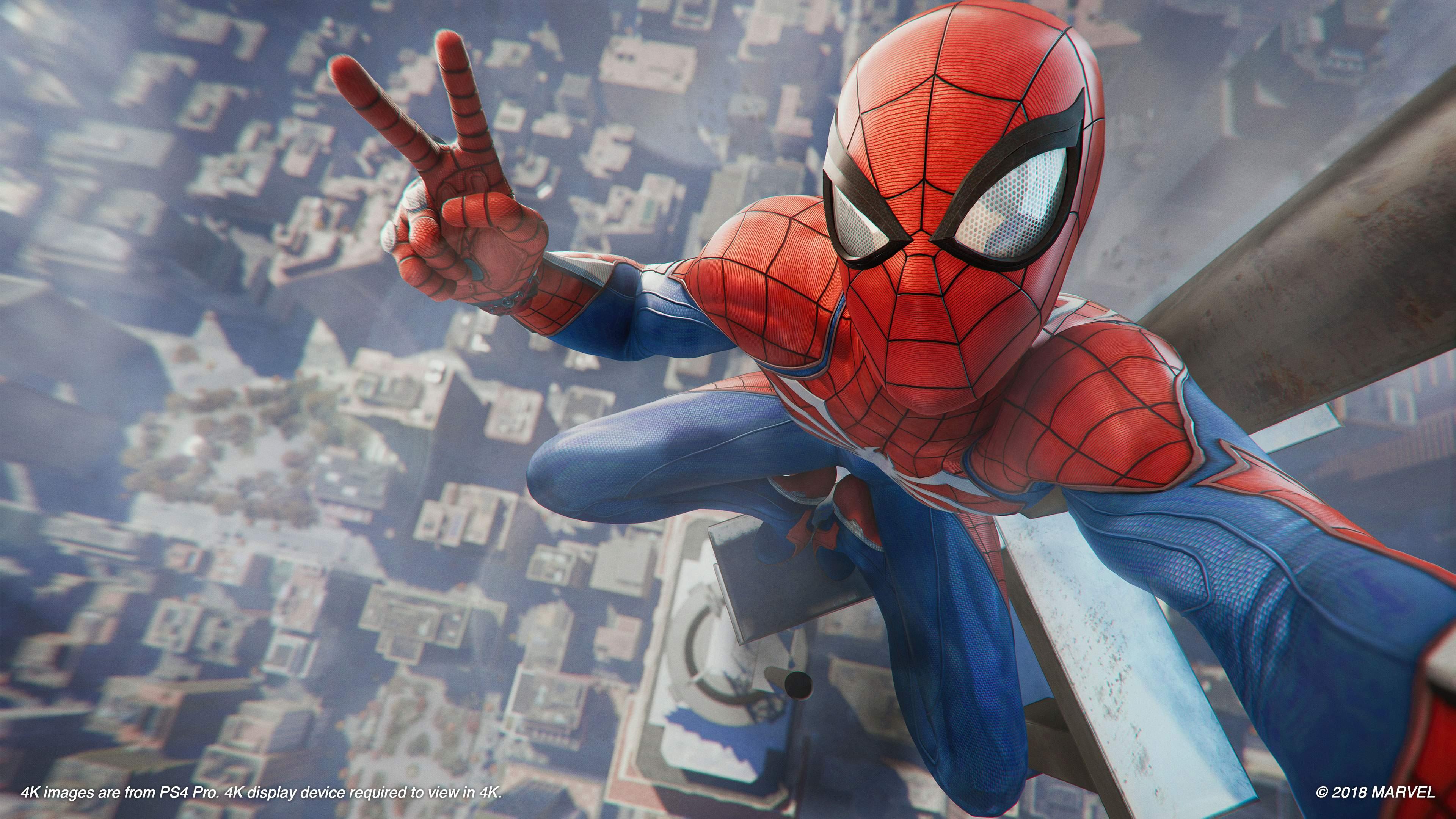 El Spiderman De Sony Se Convierte En Uno De Los Mejores Juegos De