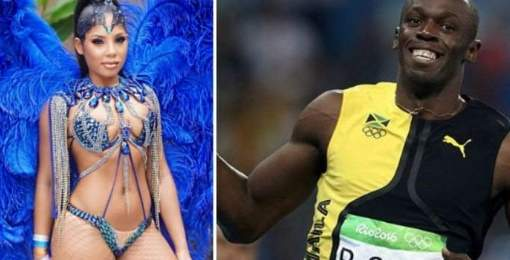 Usain Bolt: así es (o era) su espectacular novia, Kasi Bennett