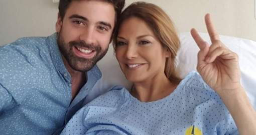 Ivonne Reyes, ingresada en el hospital