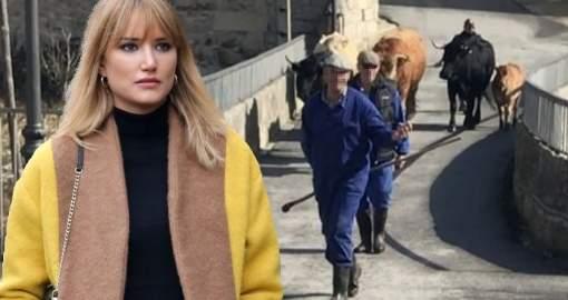 Alba Carrillo comienza una nueva vida en el pueblo