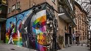 grafiti lavapies vivienda gentrificacion
