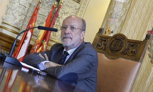 León de la Riva delega la Alcaldía de Valladolid en su teniente de alcalde