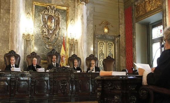 El supremo emite sentencia sobre los recursos del caso for Sala 4 tribunal supremo