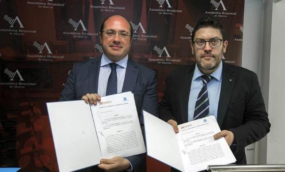 Ciudadanos anuncia que votará a favor del PP en Murcia pese a la citación de Pedro Antonio Sánchez
