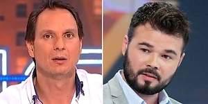 Gabriel Rufían se burla de Javier Cárdenas y aviva su guerra