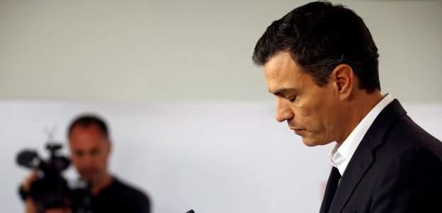 Pedro Sánchez dimite tras su derrota en la votación del Comité Federal
