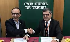 Caja Rural de Teruel ofrecerá sus productos y servicios en condiciones especiales a las tiendas virtuales