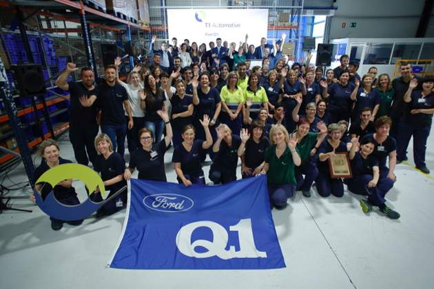 TI Automotive recibe el reconocimiento Q1 Award de Ford