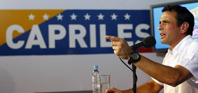 Capriles: ''La expulsión de los diplomáticos de EEUU es una cortina de humo para tapar la crisis''