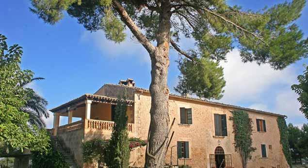 Possessió Binicomprat, una bandera de Mallorca