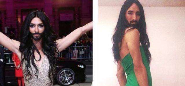 España tiene a su propia Conchita Wurst: un joven de Mallorca es su doble
