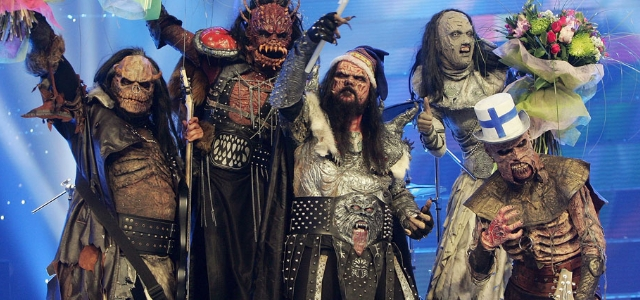 Lordi, ganadores de 2006, visitan España
