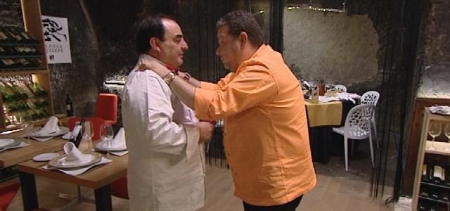 Alberto chicote acude a la llamada de auxilio de un for Pesadilla en la cocina el rey