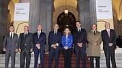 Nadia Calvio en la Bolsa de Madrid