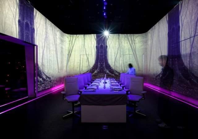 Un restaurante multisensorial