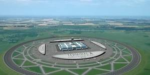 Una propuesta para los aeropuertos del futuro: serán circulares