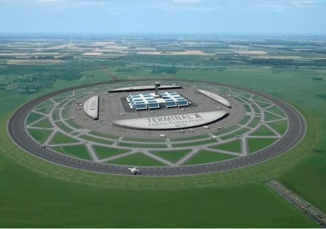 Aeropuertos del futuro, circulares