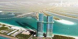 Las piscinas flotantes se ponen de moda en los hoteles más vanguardistas de Dubái