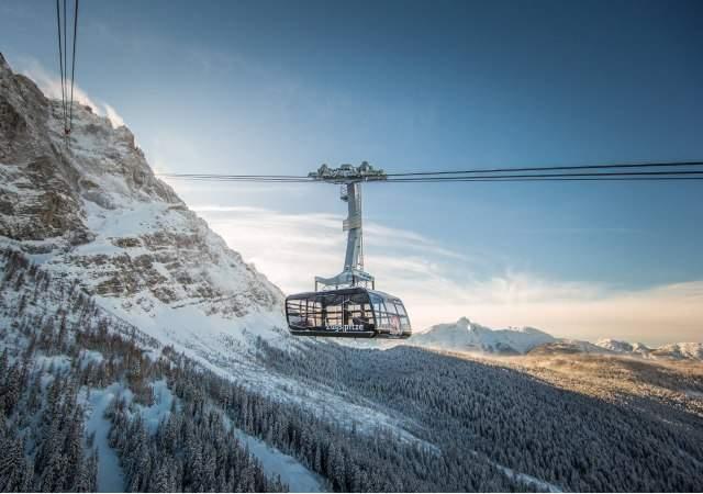 El teleférico del pico más alto