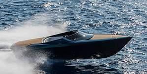 El AM37, la espectacular lancha de Aston Martin