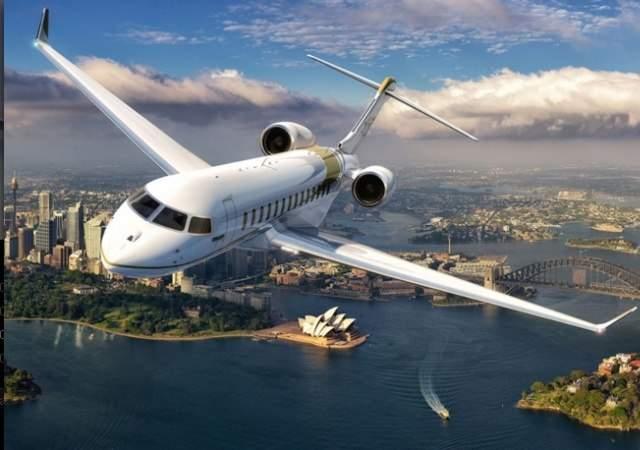 Así es el jet de negocios más largo