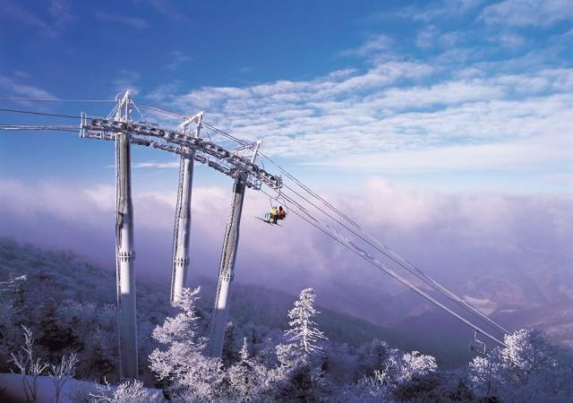 Yongpyong Ski Resort, espectacular