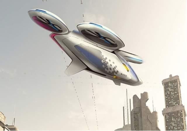 Los taxis voladores de Airbus