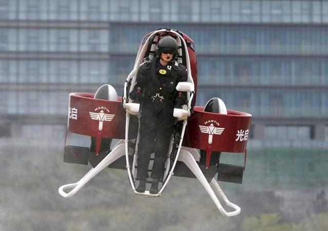 China y el sector del hombre volador