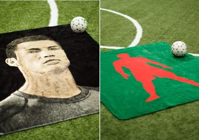 Las mantas de lujo de Ronaldo