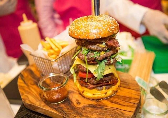 La burger más cara: 10.000 euros