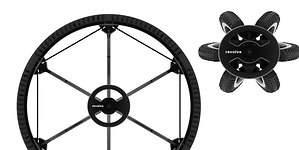 Una rueda plegable, lista para revolucionar el transporte en bicicleta