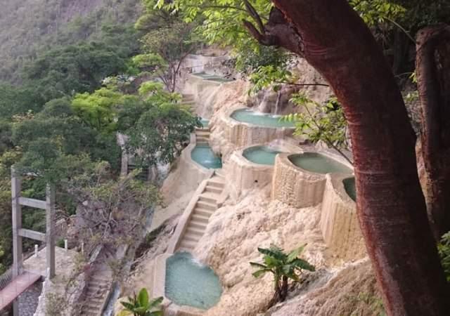 Así es el paraíso de Tolantongo