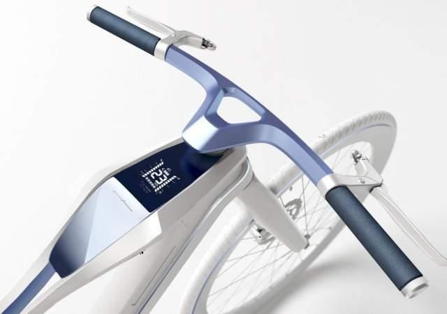 Bicicleta diseñada como un coche