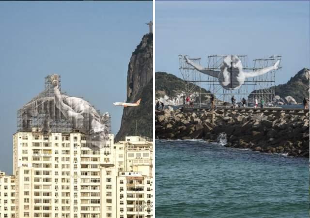 Deportistas gigantes invaden Río