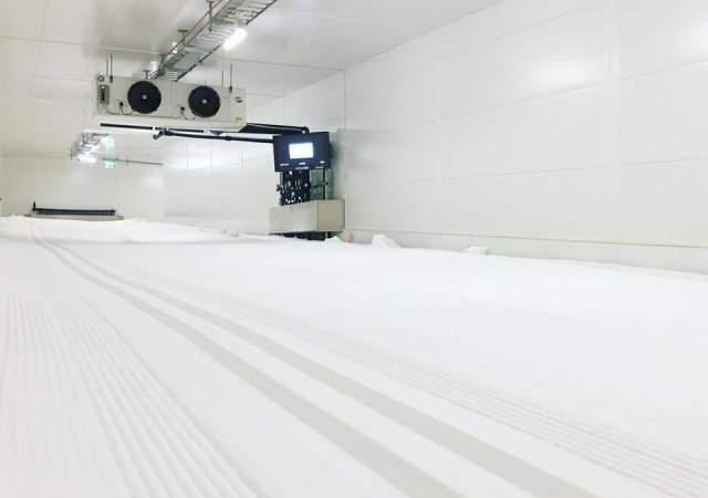 Así es el túnel de esquí más largo