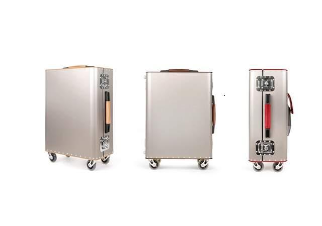 Kronos, maletas de fibra de carbono