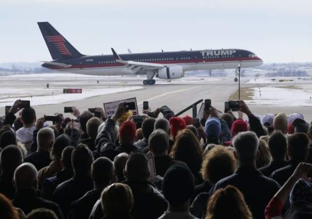 Trump tiene su propio Boeing