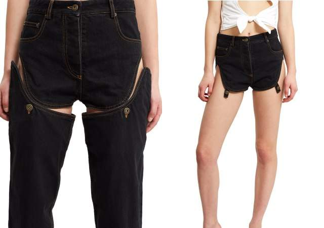 Jeans desmontables por 435 euros