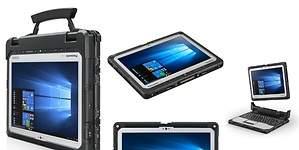 Así es el portátil de cuatro mil euros que aguanta caídas y que puede utilizar el ejército