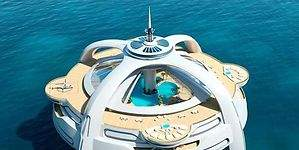 Una completa ciudad flotante y artificial con todos los lujos posibles