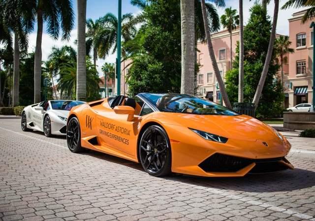 ¿Quiere conducir Lamborghinis?