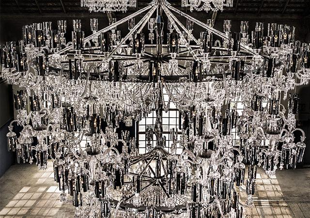 Lmpara chandelier de baccarat todo un lujo de dimensiones baccarat portadag chandelier baccarat 250 aniversario aloadofball Choice Image
