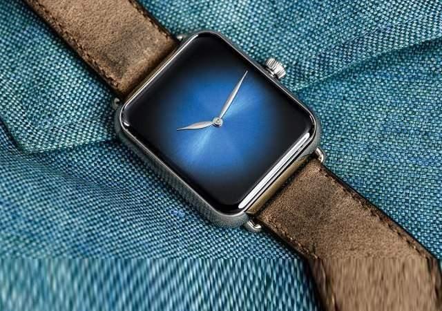 Un Apple Watch mecánico y suizo