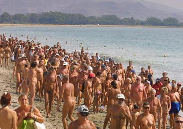 Playa Nudista Fotos chicas guapas desnudas mujeres