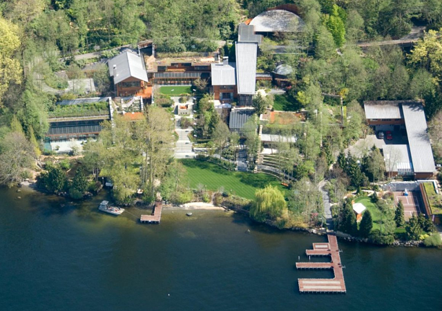 Xanadu, la mansión de Bill Gates