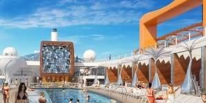 Bares flotantes, alfombras mágicas y piscinas privadas: así serán los cruceros de 2018